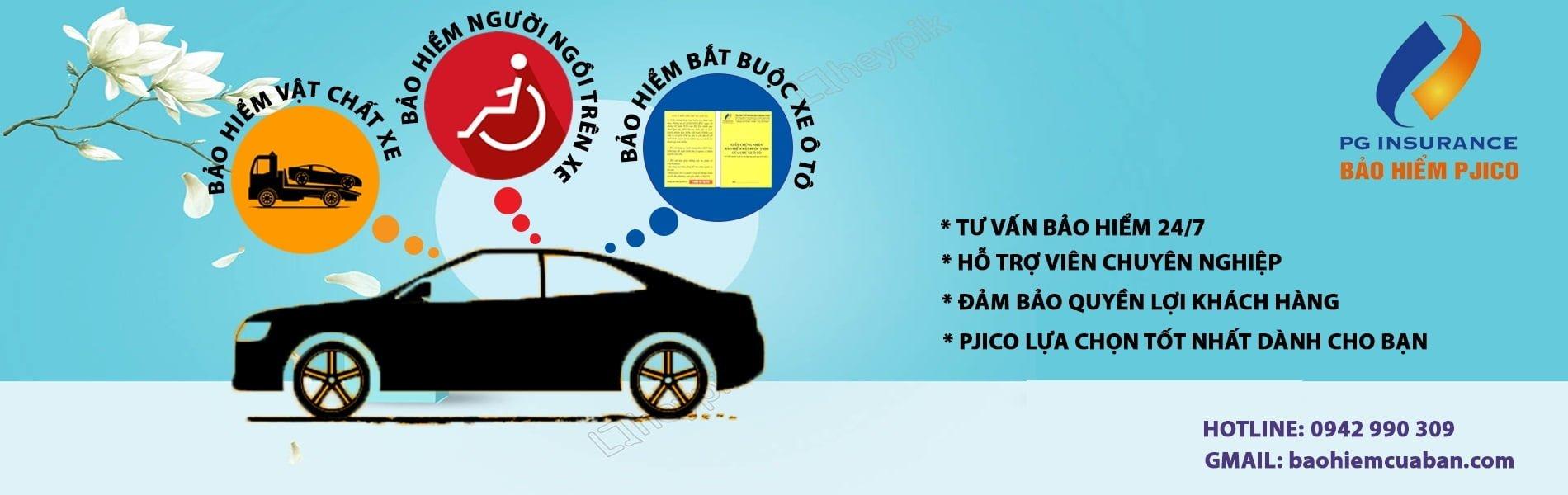 Bảo hiểm vật chất xe ô tô - công ty bảo hiểm PJICO - Hotline: 09429903